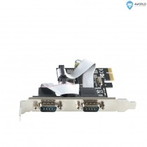 Kontroler IO 2x serial (RS232) PCIe x1 (05335)