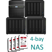 Synology NAS 4-bay KIT ds41xx