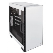 Kućište Corsair Carbide Clear 400C, bijela, ATX, 24mj (CC-9011095-WW)