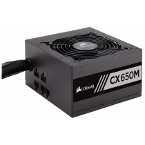 Jedinica napajanja Corsair 650W CX 650W, ATX, 135mm, 80 plus Bronze, 36mj (CP-9020122-EU)