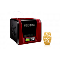 XYZPrinting Da Vinci Junior 1.0 Pro, 3F1JPXEU01B, (w)15cm x (d)15cm x (h)15cm, 1x glava, 12mj