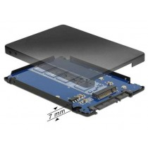 Adapter M.2 na SATA 22pin (data + power) 2.5'' with Enclosure (62688)
