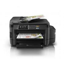 Epson L1455, C11CF49401, print, scan, copy, fax, ADF, duplex, tintni, color, A3, USB, LAN, WL, 4-bojni, crna, 12mj