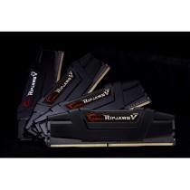 DDR4 64GB (4x16GB), DDR4 3200, CL15, DIMM 288-pin, G.Skill RipjawsV F4-3200C16Q-64GVK, 36mj