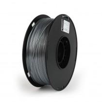 POLYMER Glossy Filament Gembird, Svileno srebrna, 1kg, 1.75mm, 3DP-PS1.75-01-S