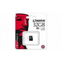 SD HC 32GB class 10, microSD, Kingston SDC10G2/32GBSP
