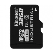 SDHC 32GB Industrial Temperature, Kingston, SDCIT/32GB, microSDHC, adapter, 90/45, 36mj