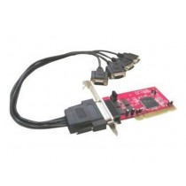 Kontroler IO card 4x serial RS232, PCI (IO-104)