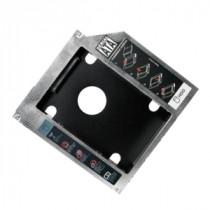 """Kućište Logilink Caddy Slim 5.25"""" SATA -> 2.5"""" SATA, 9.5mm, siva, 2.5"""", 12mj (AD0017)"""