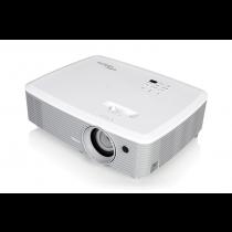 Projektor Optoma W400+, DLP, 1280x800, 4000lm, do 10000h, 22k:1, 3D, VGA 2x, HDMI 2x, zvučnici, bijela, 24mj, (95.78L01GC0E)
