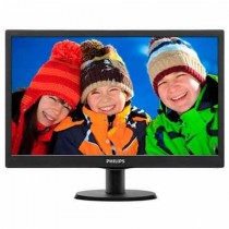 "Monitor Philips 18.5"", 193V5LSB2/10, 1366x768 mat, LCD LED, TN, 5ms, 90/65º, VGA, crna, 24mj"