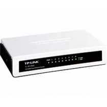 TP-Link Switch TL-SF1008D 8-port Unmanaged mini Desktop Switch, 8×10/100M RJ45 ports, Plastic case