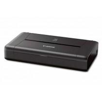 Canon Pixma iP110 s baterijom, c/b 9str/min, kolor 5.8str/min, print, tintni, color, A4, USB, WL, 2-bojni, 12mj