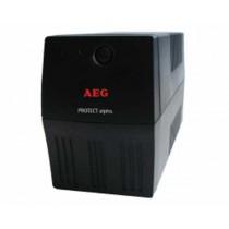 UPS AEG 600VA, Protect Alpha, 360W, Line Interactive, crna, 24mj, (600 001 4747)