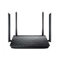 Router Asus RT-AC1200G+, WLAN AP, Router, 4x GbE, 1x WAN 1GbE, 1x WAN USB mobile, crna