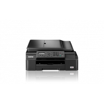 Brother MFC-J200, MFCJ200YJ1, print, scan, copy, fax, ADF, tintni, color, A4, USB, WL, 4-bojni, crna, 24mj