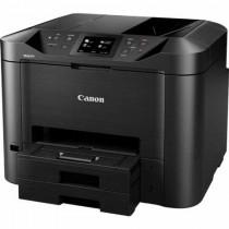 Canon Maxify MB5450, print, scan, copy, fax, ADF-D, duplex, tintni, color, A4, USB, LAN, WL, 4-bojni, crna, 12mj