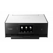 Canon Pixma TS9050, print, scan, copy, duplex, CD Print, tintni, color, A4, USB, LAN, WL, 6-bojni, bijela/crna, 12mj