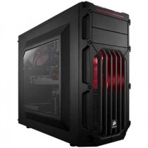 "Kućište Corsair SPEC-03 Red LED, crna, ATX, USB3.0 2x, 3.5"" int. 3x, 5.25"" vanj. 2x, 2.5"" int. 2x, 24mj (CC-9011052-WW)"