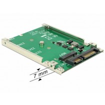"Adapter M.2 na SATA 22pin (data + power) 2.5"" full size 62544"