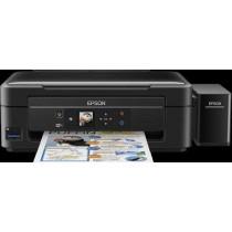 Epson L486, C11CF45401, print, scan, copy, tintni, color, A4, USB, WL, 4-bojni, crna, 12mj