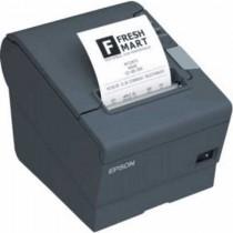 POS Pisač Epson TM-T88V+PS180, C31CA85042, crna, 300mm/s, Termalni, rola 80mm, rezač, USB, serial, 48mj