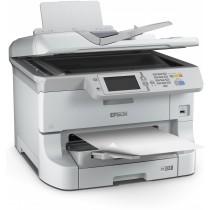 Epson WF-8510DWF, C11CD44301, print, scan, fax, duplex, tintni, color, A3+, A3 scan, USB, LAN, WL, 4-bojni, bijela, 12mj
