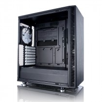 """Kućište Fractal Design Define C, crna, ATX, USB3.0 2x, 3.5"""" int. 2x, 2.5"""" int. 3x, 12mj (FD-CA-DEF-C-BK)"""