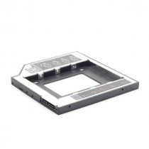 Kućište Gembird Slim mounting frame for 2.5'' drive to 5.25'' bay, up to 9.5 mm, caddy, (MF-95-01)