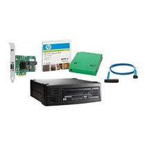 HP LTO-4 Ultrium 1760 SAS Internal, bundle with 4 cartriges, AP826AT