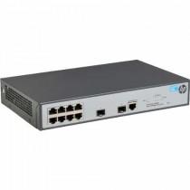 Switch HP 1920-8G, JG920A, Gigabit, 8x, rack, managed, 8x GbE, 2x SFP, tamno siva