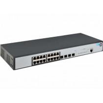 Switch HP 1920-16G, JG923A, Gigabit, 16x, rack, managed, 16x GbE, 4x SFP, tamno siva