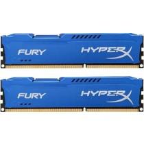 DDR3 8GB (2x4GB), DDR3 1866, CL10, DIMM 240-pin, Kingston HyperX Fury HX318C10FK2/8, 36mj