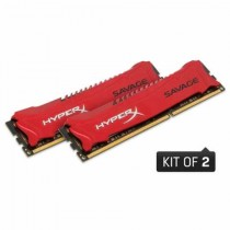 DDR3 8GB (2x4GB), DDR3 2400, CL11, DIMM 240-pin, Kingston HyperX Savage HX324C11SRK2/8, 36mj