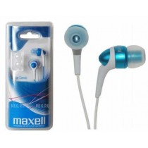 Slušalice Maxell Canalz, U ušni kanal, plava, 12mj, (303442.50.GB)