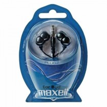 Slušalice Maxell Plugz, U ušni kanal, crna, 12mj, (303459.00.CN)