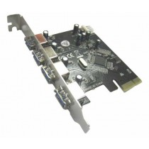 Kontroler USB3.0, 4 port, PCIE (N-EXPCI-4PA)