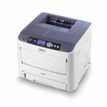 OKI C610n, c/b 36str/min, kolor 34str/min, print, laser, color, A4, USB, LAN, 4-bojni, PCL5c, PCL6, PS3, 12mj