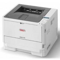 OKI B512dn, 45762022, bijela/crna, c/b 45str/min, print, duplex, laser, A4, USB, LAN, 12mj