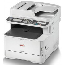 OKI MC363dn, 46403502, print, scan, copy, fax, ADF-D, duplex, laser, color, A4, USB, LAN, 4-bojni, bijela, PCL6, PCL5c, PS3, 24mj