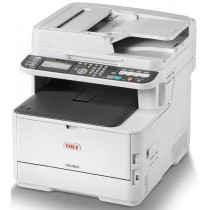 OKI MC363dnw, 46403512, print, scan, copy, fax, ADF-D, duplex, laser, color, A4, USB, LAN, WL, 4-bojni, bijela, 12mj