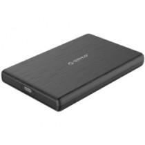 "Kućište USB Orico 2.5"" SATA HDD, 9.5 mm, tool free, USB Type-C, crno (2189C3-BK)"
