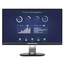 "Monitor Philips 25"", B-Line, 258B6QUEB, 2560x1440, LCD LED, IPS, 5ms, 178/178o, VGA, HDMI, DVI-D, DP, USB3.0 3x, Lift, Pivot, Zvučnici, crna, 36mj"
