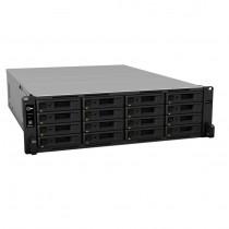 NAS Synology RS4017xs+,  max. 16x disk, LAN 2x 10GbE, 4x 1GbE, Rack 3U, Redundant power, 24mj