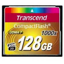 Compact Flash 128GB, Transcend, TS128GCF1000, CF kartica, 12mj