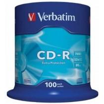 CDR Verbatim 80 min, rinfuza c100 (43411)