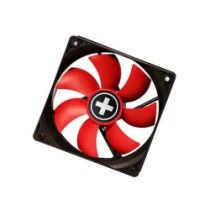Ventilator 80x80x25mm, Xilence COO-XPF80.R, 3-pin, Molex 4-pin, crvena