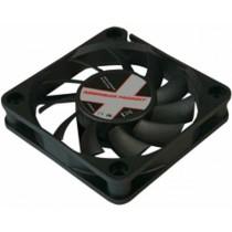 Ventilator 60×60×12mm, 12V DC, 3pin, crni (COO-XPF60S.W)