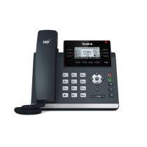 Yealink SIP-T42S, IP Phone, PoE in, tamno siva, 12mj