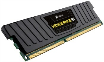 DDR3 8GB (1x8GB), DDR3 1600, CL10, DIMM 240-pin, Corsair Vengeance Low Profile CML8GX3M1A1600C10, 36mj